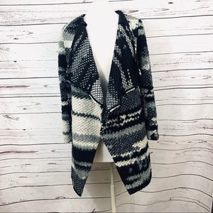 Anthropologie Guest Editor draped jacket xs